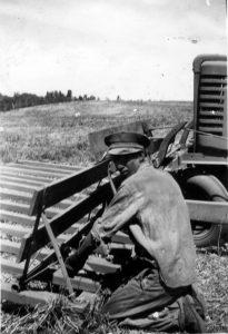 1940 John Deere A Rake