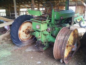 John Deere A Before Restoration