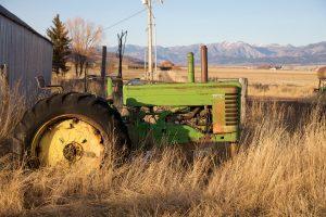 John Deere A Fall Season Resting Spot