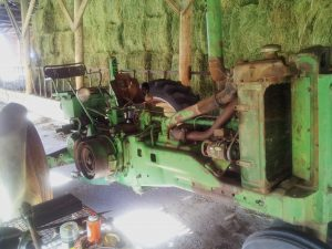 John Deere A In Repair